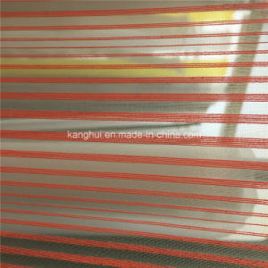 Yarn Dyed Stripe Organza for Garments