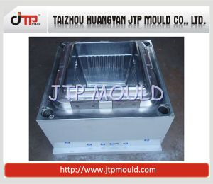 High Gloss Cavity Mould of Square Plastic Flower Pot Mould pictures & photos