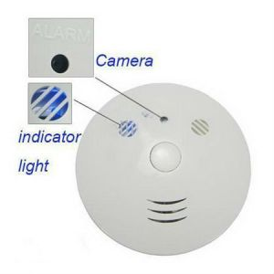 4GB Smoke Detector with 2.0MP Camera Remote Control pictures & photos