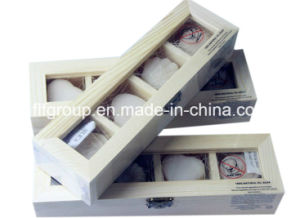 Durable Compartments MDF Wooden Display Box pictures & photos