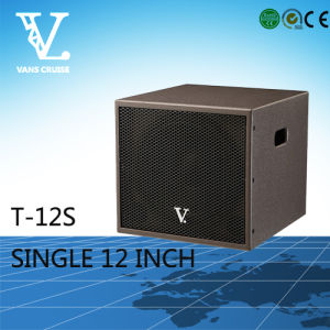 T-12s Single Bass 12′′ Speaker Available for Home Theater Woofer pictures & photos
