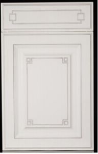 White Solid Wood Kitchen Cabinet Doors with Many Desings (ZHUV) pictures & photos
