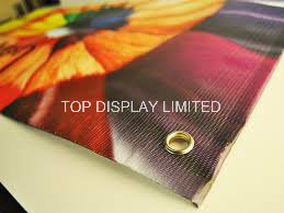 Custom Outdoor Advertising Signage Mesh Full Color Hanging Banner pictures & photos