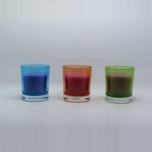 Custom Religious Saint Glass Jar Candle pictures & photos
