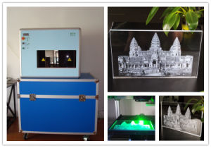 3D Crystal Engraving Laser Machine (STNDP-801AB4) pictures & photos