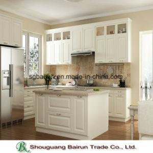 Kitchen Furniture Melamine Chipboard Kitchen Cabinet pictures & photos