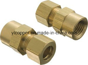 Female NPT Brass Compression Connector pictures & photos