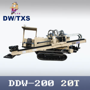 Horizontal Directional Drilling Machine (DDW-200) with Pullback Force 20t pictures & photos