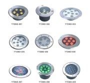 12/24V 9*1W Underground RGB LED Light pictures & photos