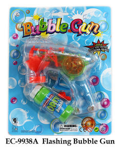 Funny Flashing Bubble Gun Toy pictures & photos