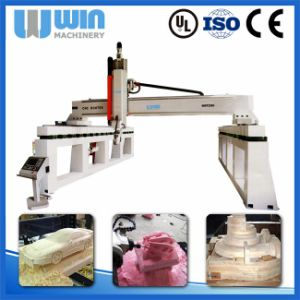 Good Price 5D Wood Carving Wwf2560 5 Axis CNC Machine pictures & photos