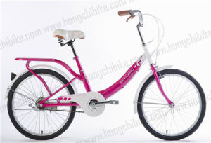 "16"" Alloy Frame City Bike with Rear Carrier for Lady (HC-TSL-LB-81036) pictures & photos"