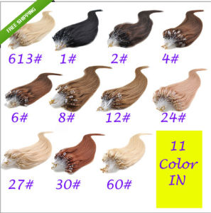Various Color Available Mirco Loop Ring Hair Extensions pictures & photos