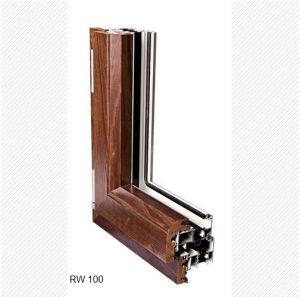 Solid Wood Cladded Luxury Aluminium Doors and Windows pictures & photos