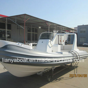 Liya 22feet Fiberglass Hull Rib Boat High Speed Boat Yacht pictures & photos