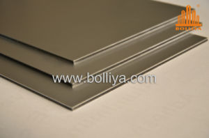 Material in Construction Wall ACP Mt-2810 White Silver pictures & photos