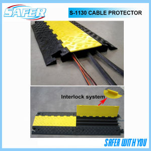 3 Channel Rubber Cable Protector pictures & photos