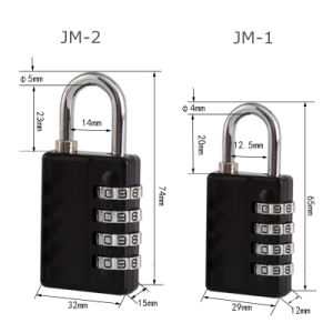 Digital Code Combination Padlock with Master Key pictures & photos