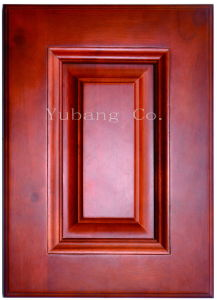 Solid Wood Kitchen Cabinet Doors (YJ012) pictures & photos
