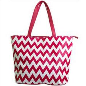 Fashion Chevron Canvas Cotton School Bags pictures & photos