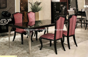 Neo-Classic Style Furniture Wooden Dining Table (LS-218) pictures & photos