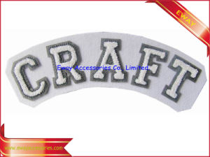 Clothing Felt Chenille Patch Flocking Fabric Embroidered Chenille Patch pictures & photos