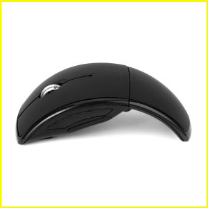Fashion Black Mini Portable Optical USB Wireless Mouse