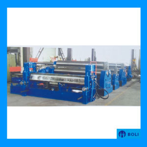 W11s Hydraulic Type 3-Roller Steel Plate Bending and Rolling Machine pictures & photos