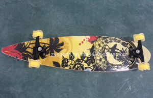 36.8*9.25 Inch Longboard with Square Wheel