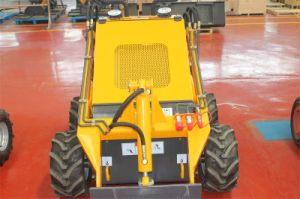 Compact Mini Skid Steer Loader Hy380 with 4 in 1 Bucket pictures & photos