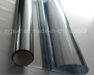 One Way Vision Mirror Film with Metal Reflection for Window Decoration pictures & photos