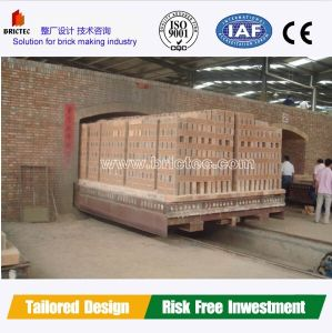 High Capacity New Design Clay Brick Burning Tunnel Kiln pictures & photos