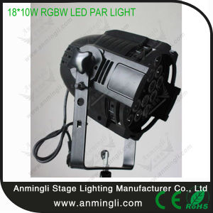 18*10W RGBW 4in1 LED PAR Light