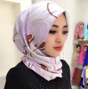 Soft Viscose Long Scarf Flower Shawl Fashion Scarf Muslim Hijab