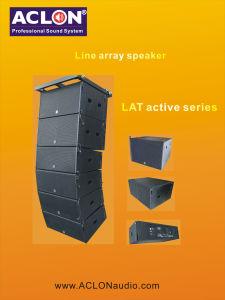 2 Way Active Line Array Speaker/ Powerful Line Array System/ Line Array Speaker /Large Output Powered Line Array (LAT212A) pictures & photos