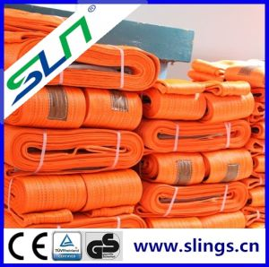 Safety Factor 7: 1 5t Eye Eye Webbing Sling with Ce GS Certificate pictures & photos
