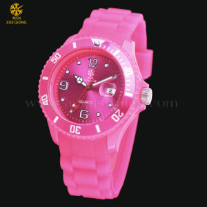 2015 Fashion Colorful Plastic MSN Xueqiong Watch for Gift