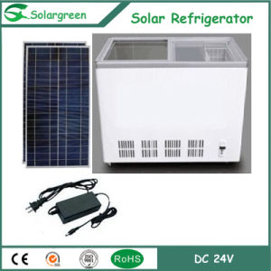 100% Solar Powered 12V 24V Chest Freezer with Deep Freezing pictures & photos