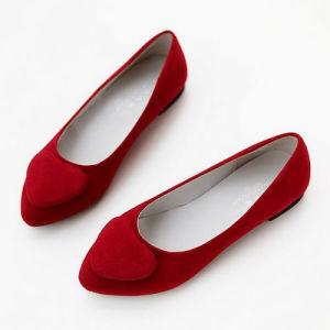 Fashion Lady Flat Ballerina Shoe (20140326-01)