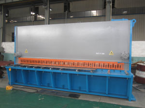 Hydraulic Shearing Machine Sheet Metal Cutting Machine QC11y-20/4000 pictures & photos