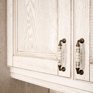 Kitchen Furniture Melamine Kitchen Cabinet with PVC Cabinet Door (zc-020) pictures & photos