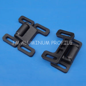 Black Plastic Universal Hinges for Aluminum Profile 30/40 Series pictures & photos