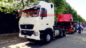 Man Engine Euro 4 Emission Standard HOWO T7h Big Horse Power Truck Head for Peru