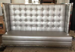 (SD-4007) Modern Dining Hotel Restaurant Furniture for Leather Booth Sofa pictures & photos