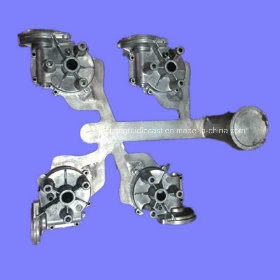Customized Aluminum Die Casting of Auto Part Housing