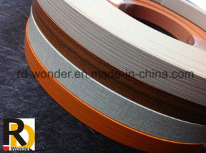 High Quality Wood Grain Furniture PVC Edge Banding pictures & photos