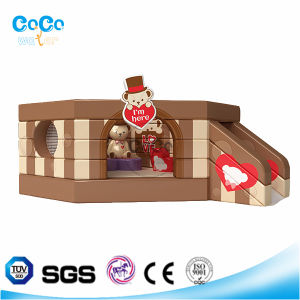 Cocowater Design Kids Teddy Bear Theme Inflatable Bouncer/Slide LG9040 pictures & photos