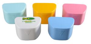 Colourful Plastic Denture Case/Retainer Box/ Denture Box pictures & photos