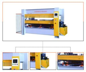 PLC Control Hot Press Machine for Door pictures & photos