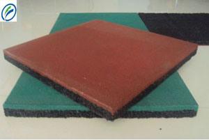 Waterproof Materail, Shock Resistance Sport Rubber Flooring